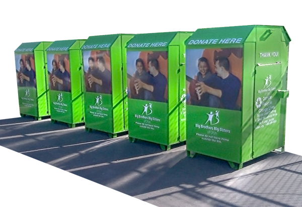 Donation Bins Salt Lake City Utah