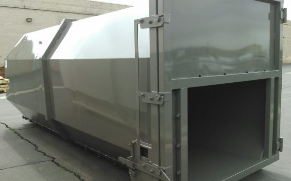 Compactor Tube Roll-Off